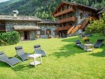 Relax area mountain Chalet Courmayeur