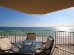 Unobstructed panoramic views of the sparking emerald waters & white-sand beaches of Destin, Florida!
