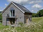 cottage in the summer sunshine