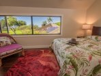 Suite # 2. Wonderful ocean and golf course views. High quality mattress/bedding