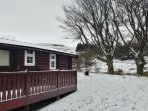 December 2017 snow at the cabin