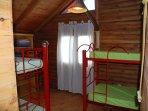 Habitación 2, camas cuchetas