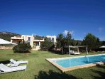 3 bedroom Villa in Es Cubells, Balearic Islands, Spain : ref 5238894