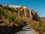 Just a 30 minute walk and this stunning village of Comares awaits you.