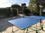 Table tennis and games area