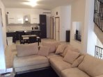 Large house with ample space for family and friends to relax after a day out..