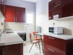 Spacious, fully renovated, fully equipped kitchen
