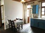 Kitchen in the Astraeus apartment