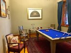 Our pool room