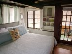 Master king bedroom with access to patio.