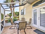 Fire up the grill and enjoy a barbecue in the private lanai.
