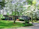 Greendream in Smyrna. Ramp to front door; garage with remote. Private fenced-in backyard w deck.