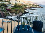 Newly refurbished cozy apartment with fantastic view over the Atlantic ocean.