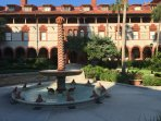 Flagler College in St. Augustine, 45 minute drive