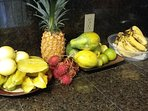 Fresh fruit from Makuu market.