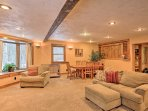 Rest easy inside 1,800 square feet of living space.