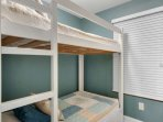 Additional Area with Twin Size Bunk Beds! Unit sleeps 6 with adjoining bathroom.  Washer/Dryer