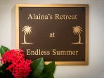 Newly added in August 2017, Alaina's retreat is a separate cottage/suite