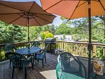 Share a meal al fresco on the furnished porch or spend your time taking advantage of the home's many indoor amenities.