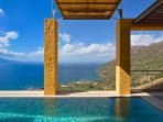 Both villas have private infinity swimming pool with panoramic view!