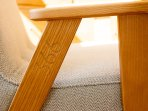 Designer furniture throughout