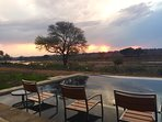 on the banks of Crocodile river in Mjejane private Big 5 Game Reserve, unfenced with Kruger Park