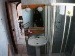 Aseo: Vista de la ducha