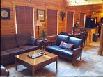 All Leather sofa, love seat, over sized chair and ottoman