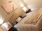 camera da letto con materasso memory