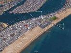Near the Balboa Pier and Fun Zone!