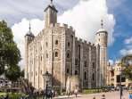 Famous Tower of London very nearby