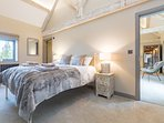 Interconnecting bedrooms to make a family suite