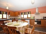 Spacious, open-plan kitchen/diner
