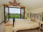 Master double bedroom with juliet balcony