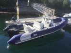 RIB with 115HP for rent