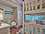 Beautifully decorated third bedroom