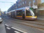 CITY TRAM (LUAS) 2 minutes -  One stop to city center