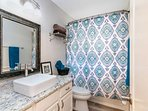 2nd bathroom - you'll love the finishing touches!