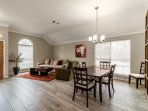 This house has two living areas - check out this one right as you enter!