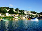 Noss Mayo, nearest village, 1.5 miles from the Cottage.