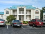Close parking in both of our side by side condos.   Meadow Brook Resort Branson