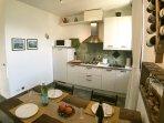 apt 705 - kitchen