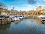 Amazing views of docks