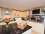Stunning light and airy kitchen