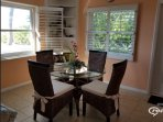 Dining area in the GULF Cottage