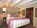 Romantic bedroom with en-suite shower room