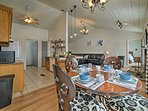 Enjoy home-cooked meals around the 4-person dining table.
