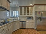 Try out your favorite recipes in the fully equipped kitchen.