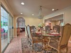 Host your formal meals in the dining room.