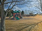 Let the kids blow off some steam with a romp around the community playground!